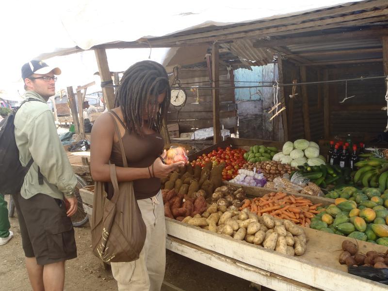 Compras en Savanna-la-Mar mercado