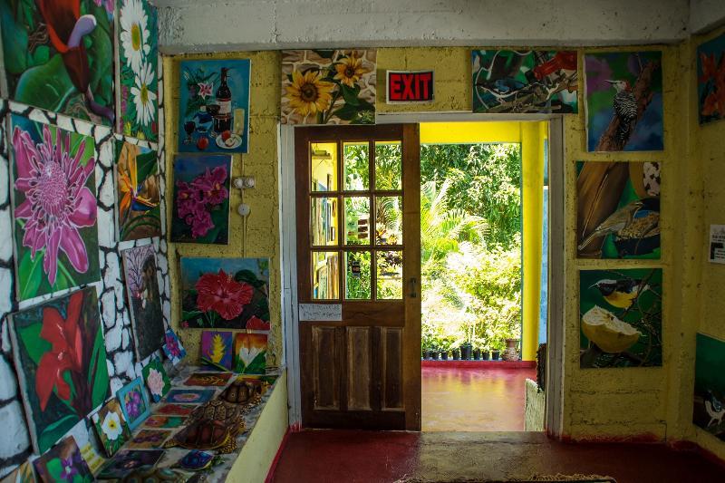 Ahhh...Ras Natango Gallery & Garden. The entire property is a work of art.