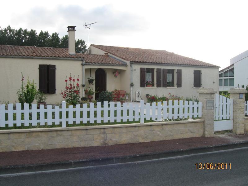 façade de notre maison