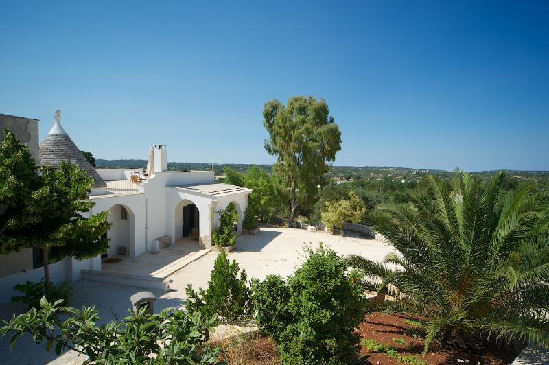 Trullo Alto, also known as The House on the Hill