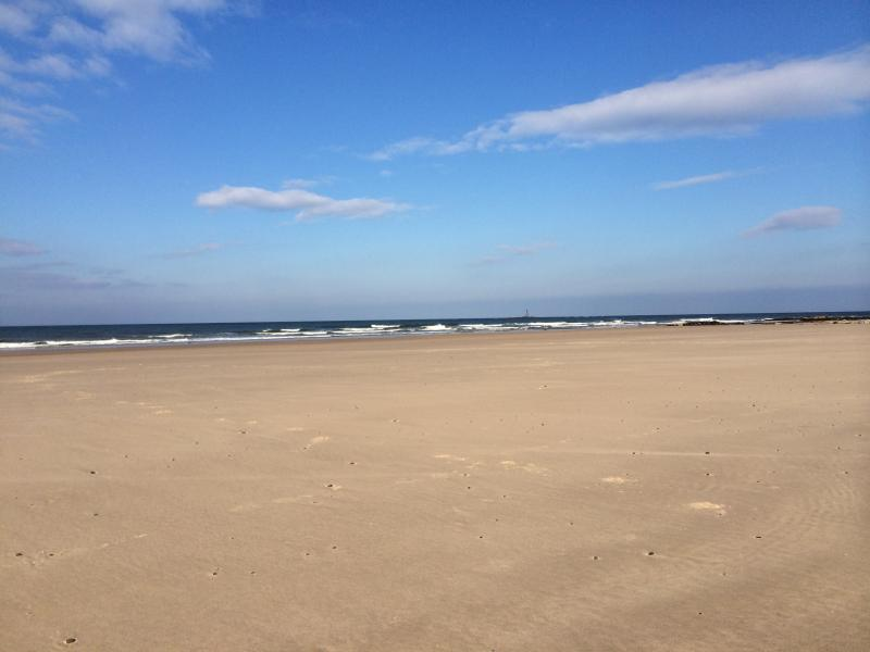 Lossiemouth West Beach - not another soul in sight!