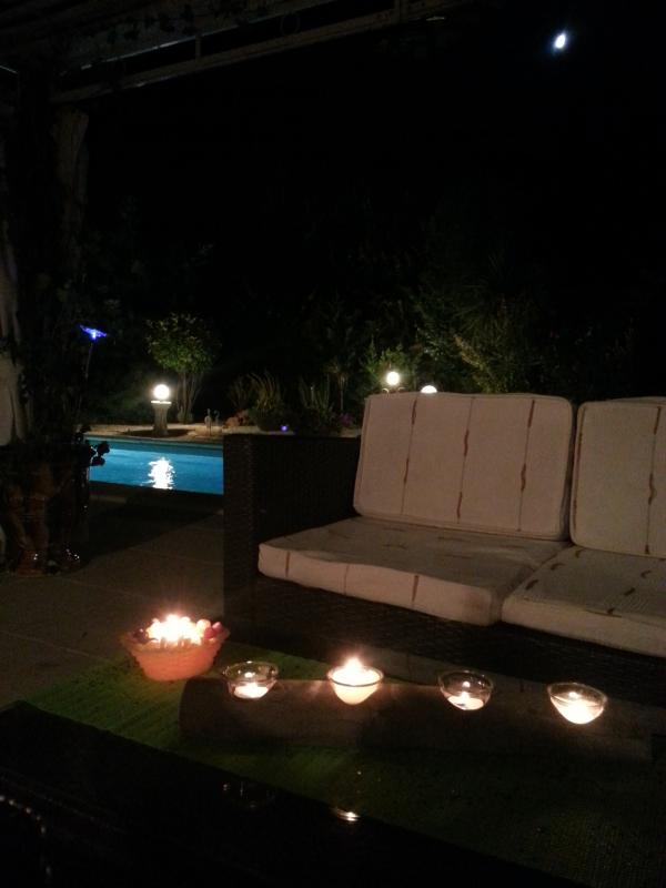 verano bajo Arbour para veladas lounge cocktail