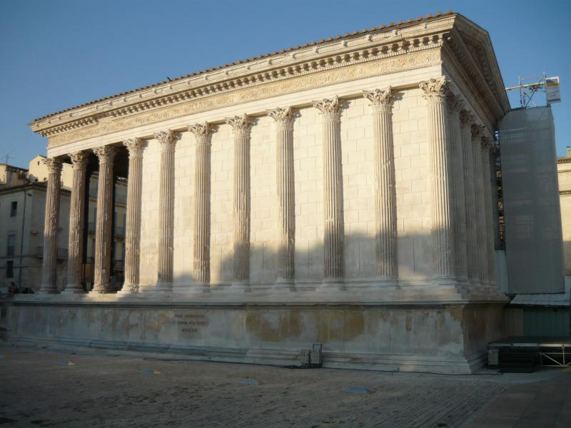 La Maison Carrée in Nimes