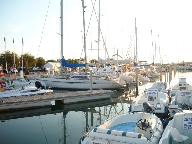 The marina at La Grande Motte