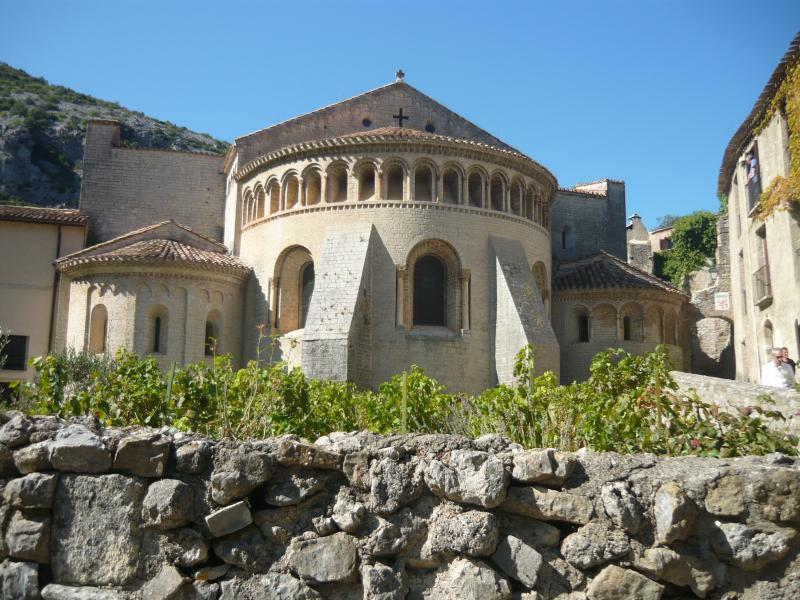 The Church in Saint Guilhem-le-Désért