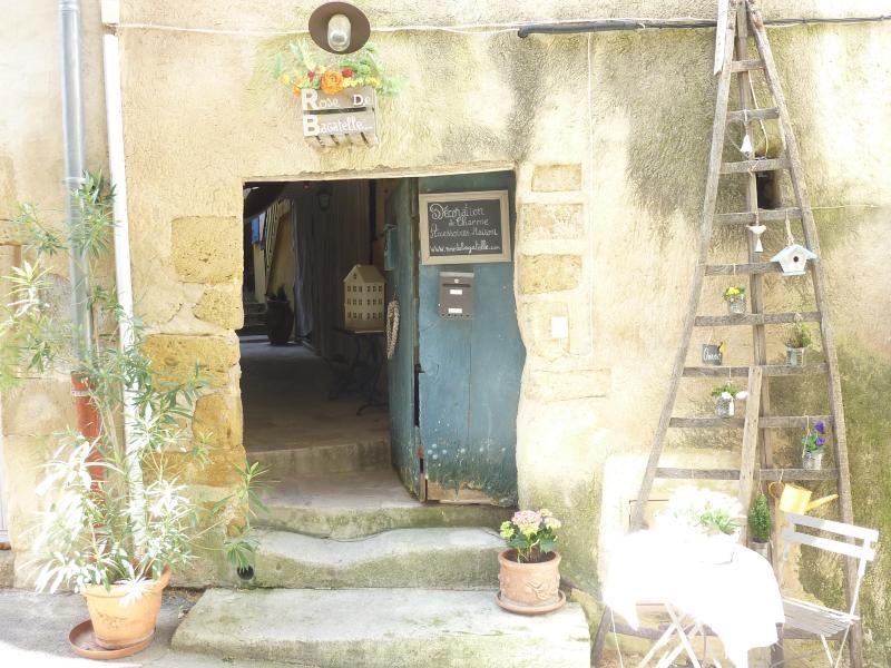 Entance externo da casa de campo - Rue de la Juiverie