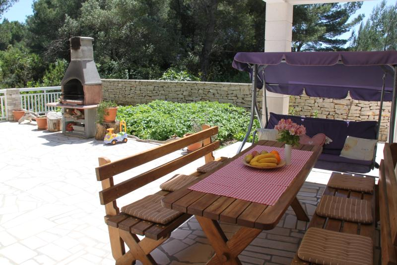 Terrace where you can enjoy, have fun, barbecue and more.