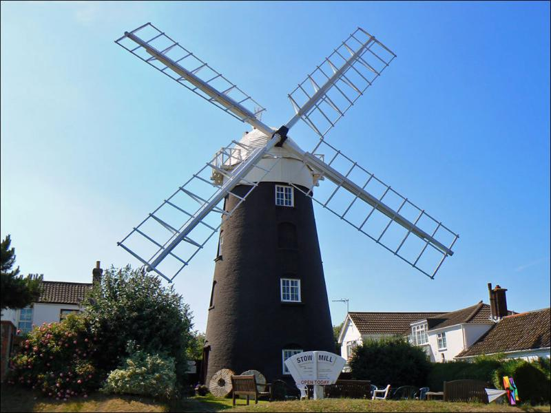 Stow Mill - well worth a visit.
