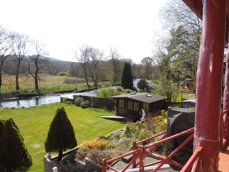 view from balcony - accessed from lounge or 'Katrine'.