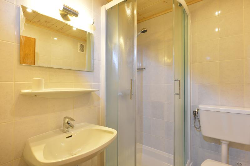 Typical bathroom in Chalet Heidi