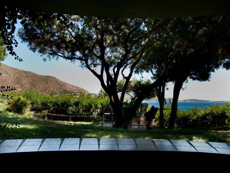 Villasimius, Capo Boi, chalet, vistas al mar