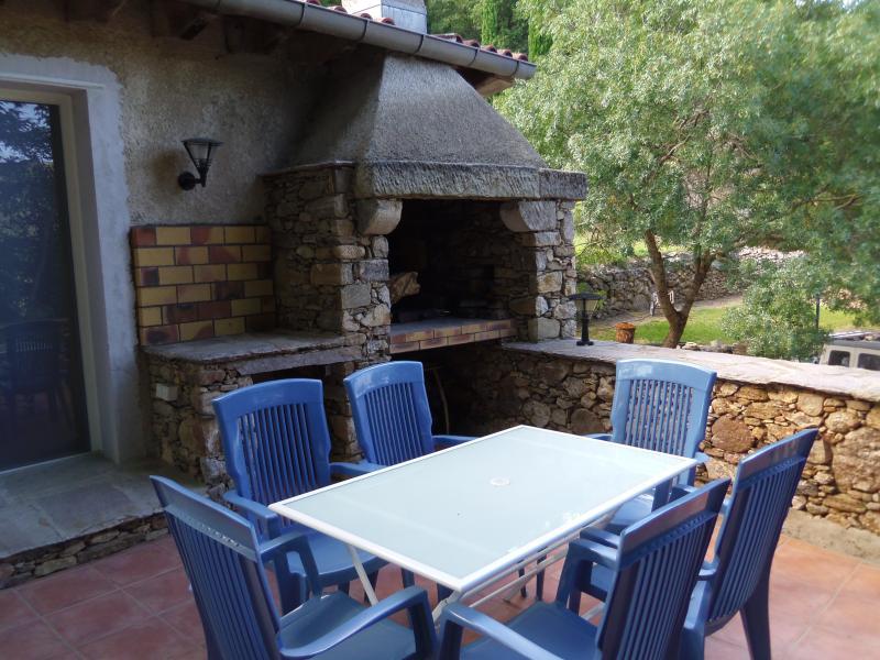 Grande terrasse de 27M² avec son barbecue