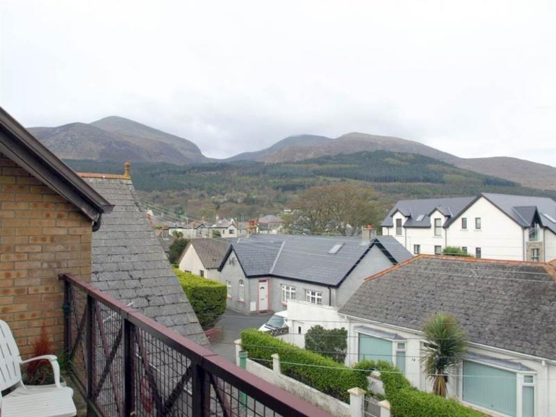 Mourne Mountain View from balcony