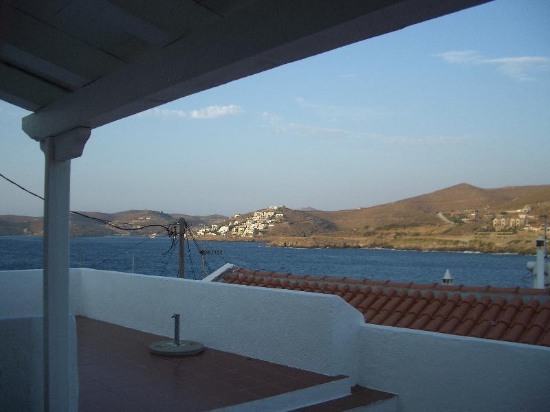 vue de la terrasse principale