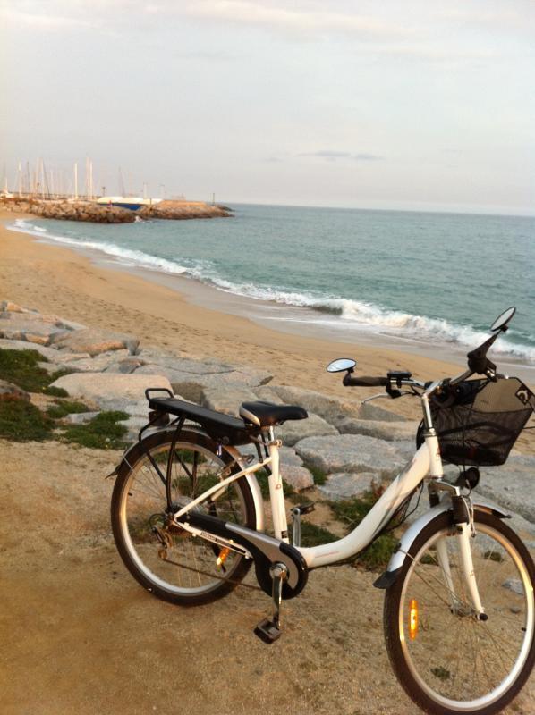 Bike on the beach (bike rent)