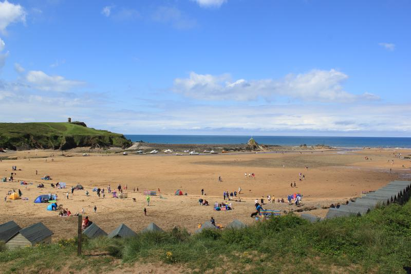 Bude beach soft sand great for families and surfers also dog friendly