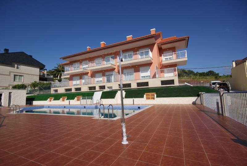 Apartamentos Mirador de Reis (T2, 4-6 pax), vacation rental in Sanxenxo