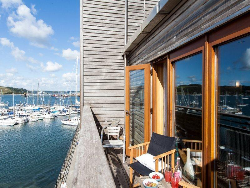 Discovery Quay, Falmouth has stunning views across the bay