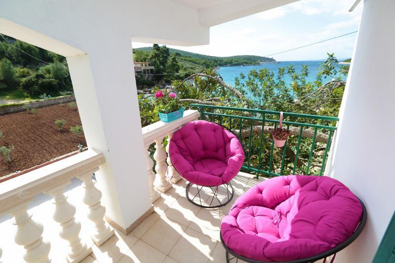 La vue sur la mer Studio de balcon privé