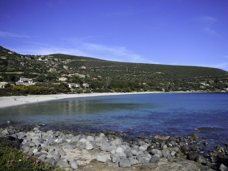 Genn'e Mari beach panoramic view