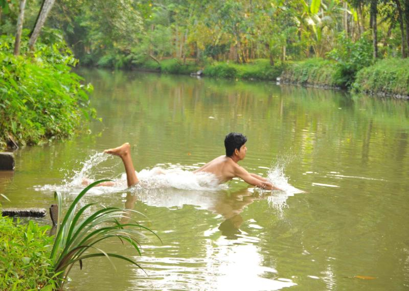 Swimming ghat