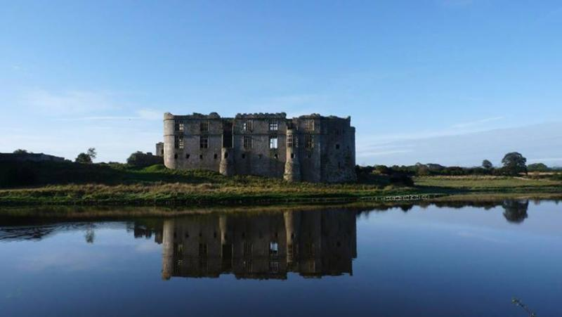 Carew Castle and mill , a 10 min drive from us and you can stop for a coffee at the local inn