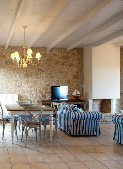Dining room/ living room area (ground floor).