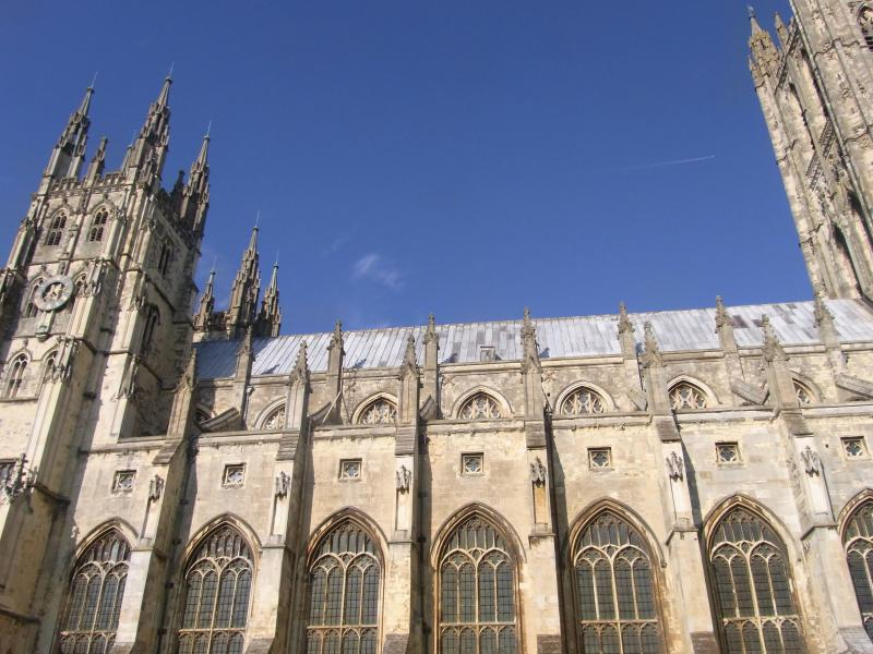Canterbury Cathedral- a fifteen minute drive away