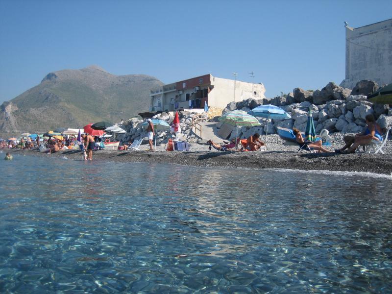 spiaggia dal Villaggio Portomarina