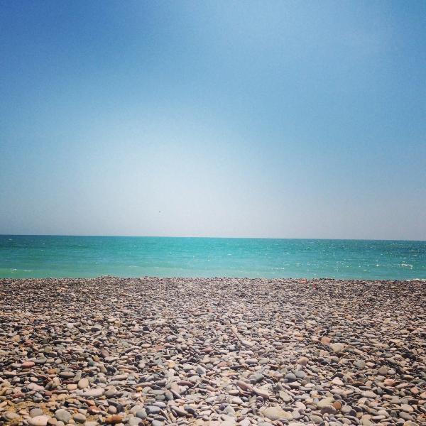 Nuestra playa azul turquesa
