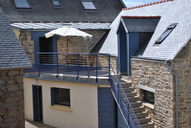 terrasse studio etage