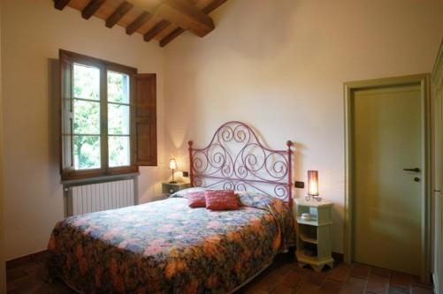 peace and privacy at the Villino del Grillo, room with satellite TV and air conditioning