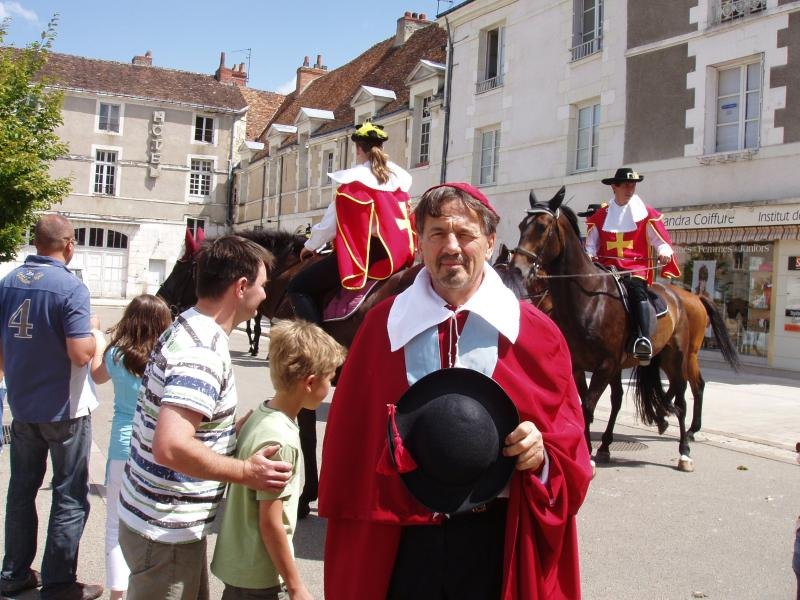 Cape et Epee, Bi-annual re-enactments of the life & times of Cardinal Richelieu featuring your host