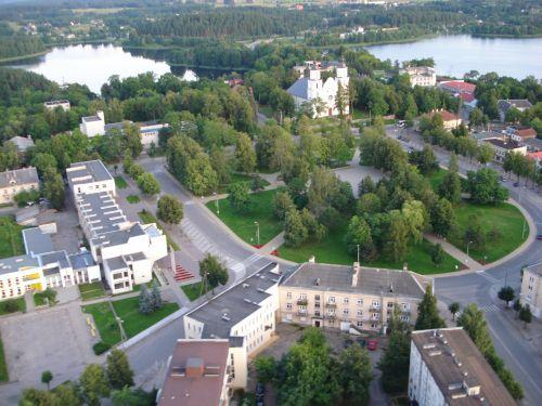 Central apartment Zarasai, holiday rental in Daugavpils