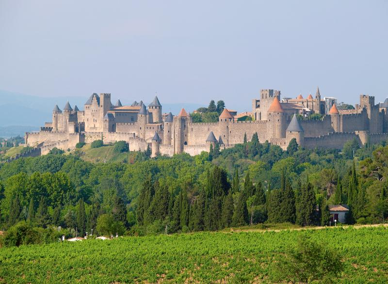 Carcassonne City (within 1 hour drive)