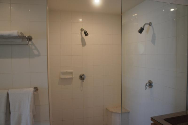 His & Hers - Double Size Walk-in Shower