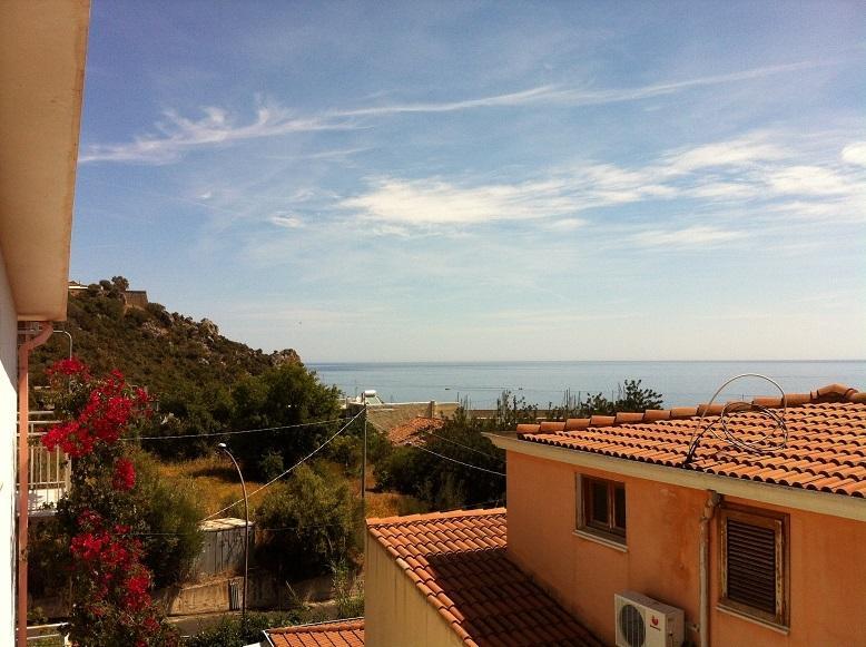 Vista Mare dalla veranda - Panoramic view from the terrace to the sea