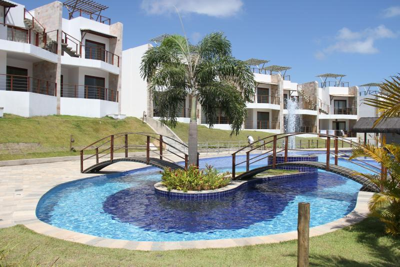 Indulge and Relax: 2br Partial Ocean View Apt, holiday rental in Tibau do Sul