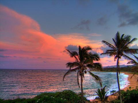 View from your lanai of sunsets can be unbelievable  and just as spectacular as the sunrises