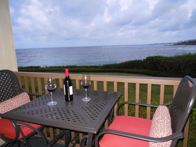 If you are there the right time of the year, do whale watching from your private Lanai