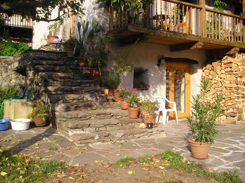 Appartement mit Terrasse