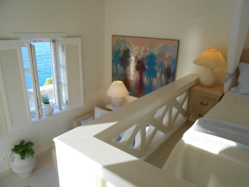with glorious views of the sea from both bedroom area and sitting area
