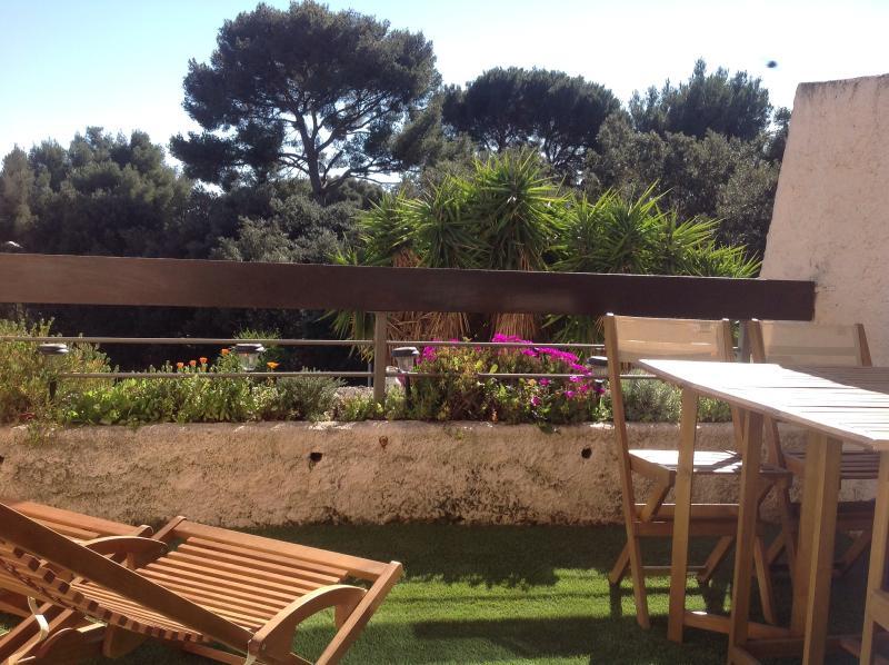 Studio proche mer avec terrasse, vue imprenable sur la mer, location de vacances à La Ciotat