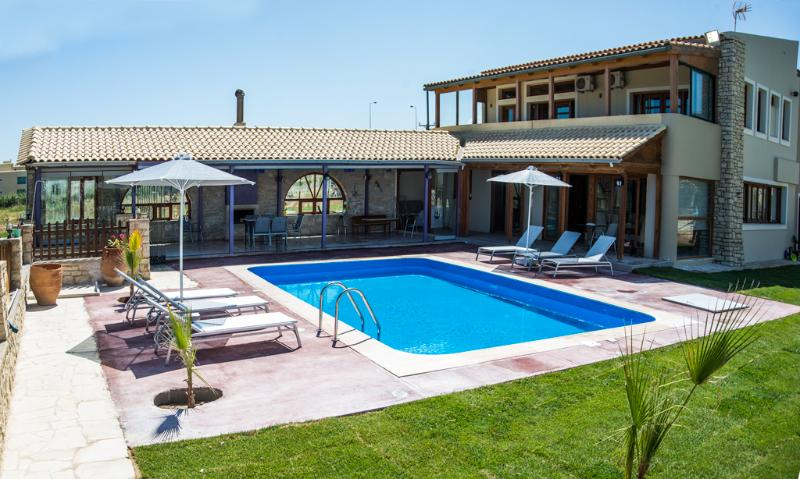 The beautiful villa on the beach with private large pool