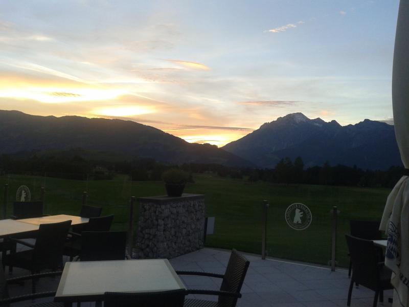 veiw from local golf course Maria Alm/Urslautal