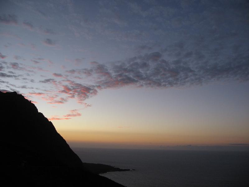 Sunset from Sabinosa, El Hierro. Sunset from Sabinosa, Iron.