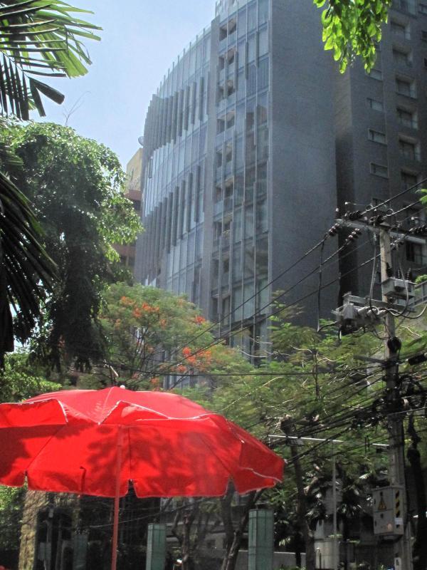 Saladaeng Residences - street view