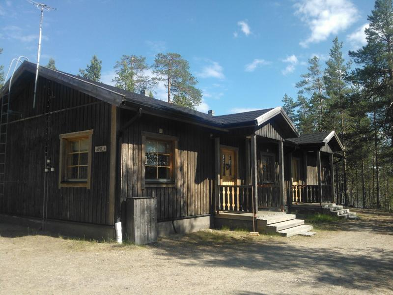 Koppelo wilderness cottage in Posio, holiday rental in Anetjarvi