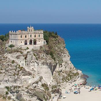 Tropes famous church 'Santa Maria del 'Isola'