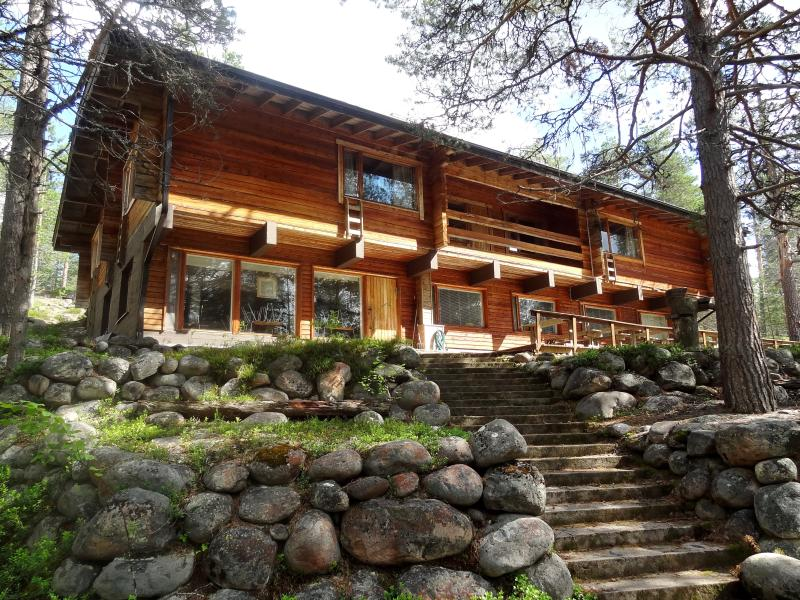 Lapiosalmitalo wilderness cottage in Posio, holiday rental in Anetjarvi